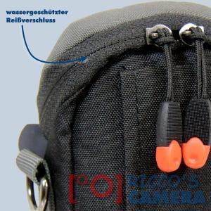 blaue Fototasche für Canon Powershot SX720 HS SX710 SX700 SX620 SX610 SX600 SX280 - Kameratasche Regenschutz Tasche blau nl1b - 2