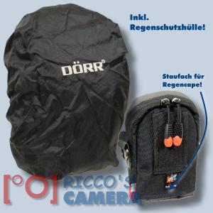 blaue Fototasche für Canon Powershot SX720 HS SX710 SX700 SX620 SX610 SX600 SX280 - Kameratasche Regenschutz Tasche blau nl1b - 3