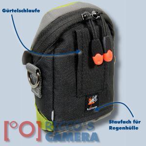 Dörr NoLimit 1 oliv Fototasche für kompakte Digitalkameras Kameratasche mit Regenschutzhülle Tasche Doerr No Limit one grün nl1o - 1