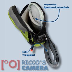 Dörr NoLimit 1 oliv Fototasche für kompakte Digitalkameras Kameratasche mit Regenschutzhülle Tasche Doerr No Limit one grün nl1o - 4