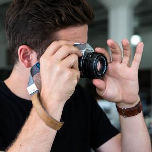 Peak Design Cuff Ash Handschlaufe (Handgelenkschlaufe) - z.B. für DSLR-Kameras, Systemkameras oder Kompaktkameras - 3