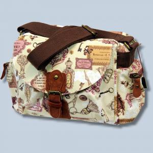 Fototasche Kalahari K-41 K41 Molopo Vintage inkl. Tascheneinsatz - Tasche für Spiegelreflexkameras und Zubehör K41vF41 - 1