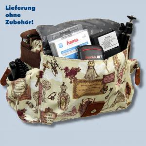 Fototasche Kalahari K-41 K41 Molopo Vintage inkl. Tascheneinsatz - Tasche für Spiegelreflexkameras und Zubehör K41vF41 - 2