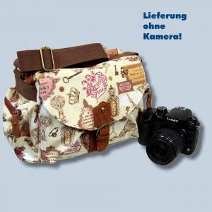 Fototasche Kalahari K-41 K41 Molopo Vintage inkl. Tascheneinsatz - Tasche für Spiegelreflexkameras und Zubehör K41vF41 - 3