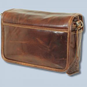 Leder Fototasche Alpenleder Presse Brandy echt Leder Tasche in braun für Systemkameras Evilkameras Kameratasche lal - 1