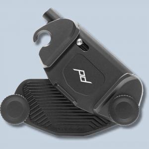 Peak Design Capture Clip v3 Black inkl. Standard Plate - Kameraclip zum Tragen von DSLR-/DSLM-Kameras an Gurten oder Gürteln - 2