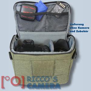 Kameratasche für Nikon Z7 Z6 Z 7 Z 6 - Fototasche in oliv Tasche Bag grün dmmo - 3