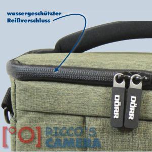 Kameratasche für Nikon Z7 Z6 Z 7 Z 6 - Fototasche in oliv Tasche Bag grün dmmo - 4