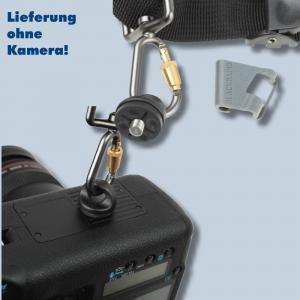 Blackrapid R-Strap Cross Shot Black Sling-Kameragurt für 1 Kamera - stylisch und puristisch (schwarz) - 2