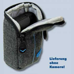 Dörr Kameratasche City Pro S Fototasche grau / blau Tasche für kompakte Digitalkameras - 2
