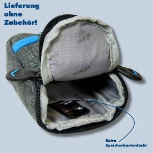 Dörr Kameratasche City Pro S Fototasche grau / blau Tasche für kompakte Digitalkameras - 3
