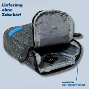 Dörr Kameratasche City Pro M Fototasche grau / blau Tasche für digitale Kompaktkameras - 2
