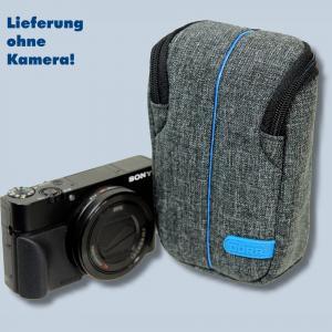 Dörr Kameratasche City Pro M Fototasche grau / blau Tasche für digitale Kompaktkameras - 4