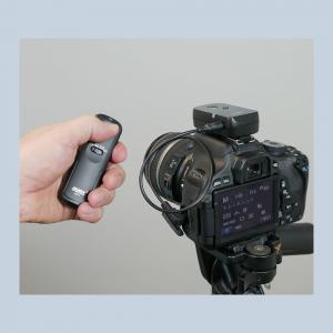 Funk-Fernauslöser Fernbedienung wie RM-VPR1 für Sony Alpha 7S II 7S 7R II 7R 7 II 7 6300 6000 5100 5000 3500 3000 ayex AX-1 - 4
