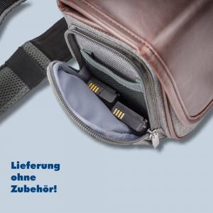 Cosyspeed Kameratasche mit Hüftgürtel Camslinger Streetomatic+ Fototasche für System- und DSLR-Kameras + Zoomobjektiv braun-grau - 3