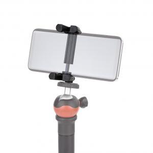 Smartphone-Halter Handyhalterung für Stativ 1/4-Zoll Gewinde 55-85mm Smartphone-Breite - 2