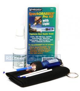 Kinetronics SpeckGRABBER Pro Kit SGL Reinigungsset für CCDs, Spiegel und Glas - 1