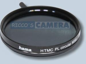Hama Polfilter zirkular 55 mm HTMC-vergütet 55mm Pol-Filter / Polarisationsfilter 55mm Hama 72655