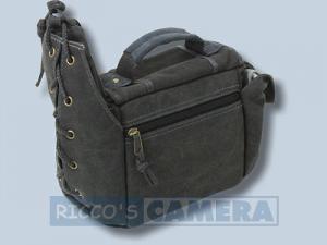 Tasche für Sony Alpha 290 390 350 300 200 700 100 Sony DSC-H50 DSC-H10 H7 H9 - Fototasche ORAPA K-21 K 21 Canvas schwarz k21b - 2
