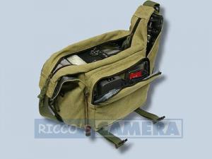 Tasche für Pentax K200D K20D K10D K100D K110D *ist DL - Fototasche K-21 K 21 K21 khaki - 1