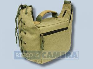 Tasche für Pentax K200D K20D K10D K100D K110D *ist DL - Fototasche K-21 K 21 K21 khaki - 2