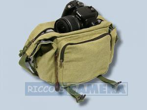 Tasche für Pentax K200D K20D K10D K100D K110D *ist DL - Fototasche K-21 K 21 K21 khaki - 3