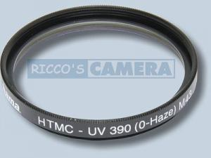 UV Filter 390 (O-Haze) 43mm HTMC®-vergütet UV-Filter 43 mm Hama 70643