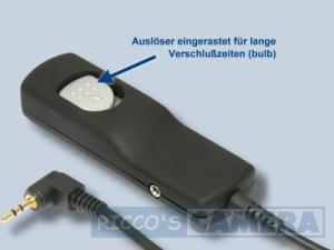 Fernauslöser mit 0,8 m Kabellänge wie Canon RS-60E3 NoName Kabel-Fernauslöser für Canon PowerShot G3 X SX60 HS G1 X Mark II G16 - 2