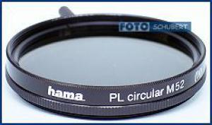 Hama Polfilter zirkular 52mm Pol-Filter / Polarisationsfilter 52 mm Hama 72552