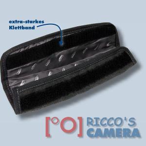 Kalahari Gurtpolster Schulterpolster Polster für Schultergurt Kameragurt Tragegurt in black / schwarz - 2