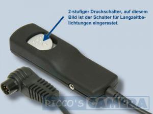 Fernauslöser mit 3,0 m Kabellänge für Kodak wie MC-30 NoName Kabel-Fernauslöser Kokak DCS Pro ( Fernbedienung MC30 MC 30 ) Adidt - 2