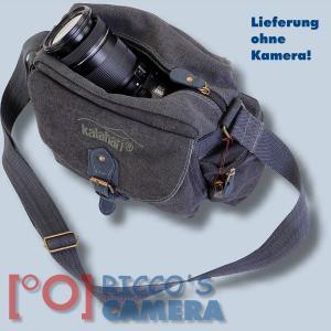 Kalahari Molopo K-41 K41 Fototasche Canvas schwarz - Tasche für Spiegelreflexkameras und Zubehör K 41 K41 black - 4