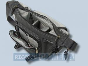 Tasche für die Fujifilm Finepix S200EXR Digitalkamera Kalahari K-21 K21 ORAPA Canvas schwarz -  K 21 K21 black k21b - 3