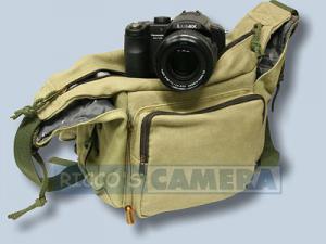 Tasche für Panasonic Lumix DMC-FZ82 DMC-FZ2000 DMC-FZ300 DMC-FZ1000 II DMC-FZ72 FZ150 - Fototasche K-21 K 21 K21 khaki k21k - 3