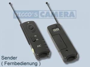 Funkauslöser für Panasonic Lumix DMC-GF1 kompatibel zu DMW-RS1 DMW-RS1E DMW-RSL1 Funkfernauslöser Fernbedienung - 1