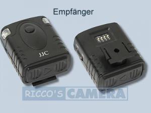 Funkauslöser für Panasonic Lumix DMC-GF1 kompatibel zu DMW-RS1 DMW-RS1E DMW-RSL1 Funkfernauslöser Fernbedienung - 2