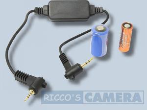 Funkauslöser für Panasonic Lumix DMC-GF1 kompatibel zu DMW-RS1 DMW-RS1E DMW-RSL1 Funkfernauslöser Fernbedienung - 3