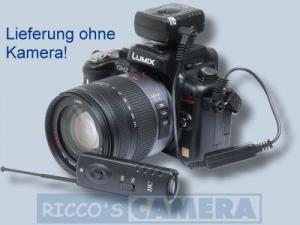 Funkauslöser für Panasonic Lumix DMC-GF1 kompatibel zu DMW-RS1 DMW-RS1E DMW-RSL1 Funkfernauslöser Fernbedienung - 4