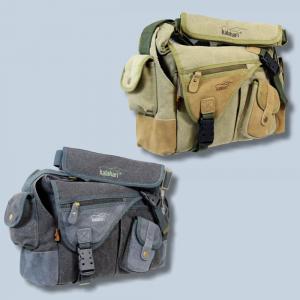 wasserdichte Tasche für Nikon D7500 D7200 D7100 D7000 D-7100 D-7000 - Kalahari Kapako K-31 Canvas khaki Kameratasche Regenschutz - 4