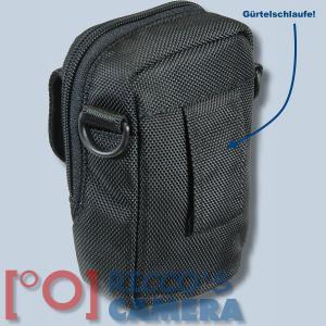 Fototasche für Panasonic Lumix DMC-TZ81 TZ71 TZ58 TZ61 TZ56 TZ22 Kameratasche + Regenschutz Fototasche Tasche mit Regencape 2s - 1