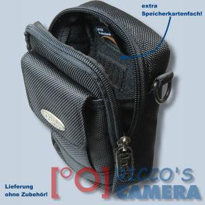 Fototasche für Panasonic Lumix DMC-TZ81 TZ71 TZ58 TZ61 TZ56 TZ22 Kameratasche + Regenschutz Fototasche Tasche mit Regencape 2s - 3