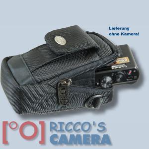 Fototasche für Panasonic Lumix DMC-TZ81 TZ71 TZ58 TZ61 TZ56 TZ22 Kameratasche + Regenschutz Fototasche Tasche mit Regencape 2s - 4