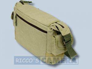 wasserdichte Tasche für Canon EOS 2000D 4000D 1300D 1200D 100D 1100D 1000D - Kalahari Kapako K-31 Canvas khaki Kameratasche in - 1