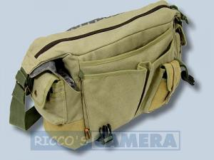 wasserdichte Tasche für Canon EOS 2000D 4000D 1300D 1200D 100D 1100D 1000D - Kalahari Kapako K-31 Canvas khaki Kameratasche in - 2