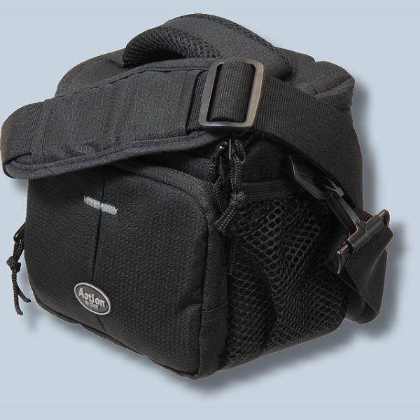 Fototasche für General Imaging GE X5 mit Platz für Zubehör - Kameratasche  Dörr Action Black No.2 für Bridgekamera Systemkamera E 32b9115090