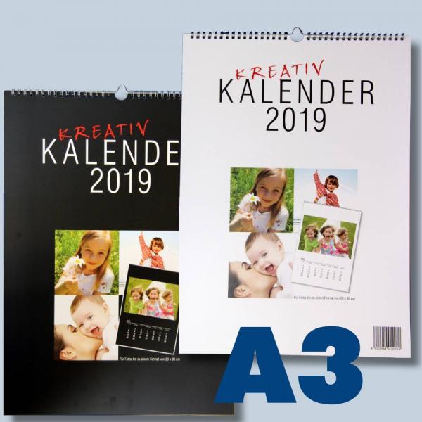 Spruche Kalender Selbst Gestalten : großer Bastelkalender zum selbst gestalten für 2017 schwarz weiß