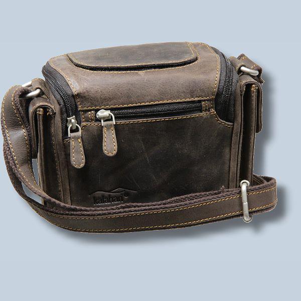 Robuste Fototasche Ledertasche für Canon EOS 100D - Kameratasche aus  braunem Büffelleder Büffelledertasche KL12 c845dab7c3