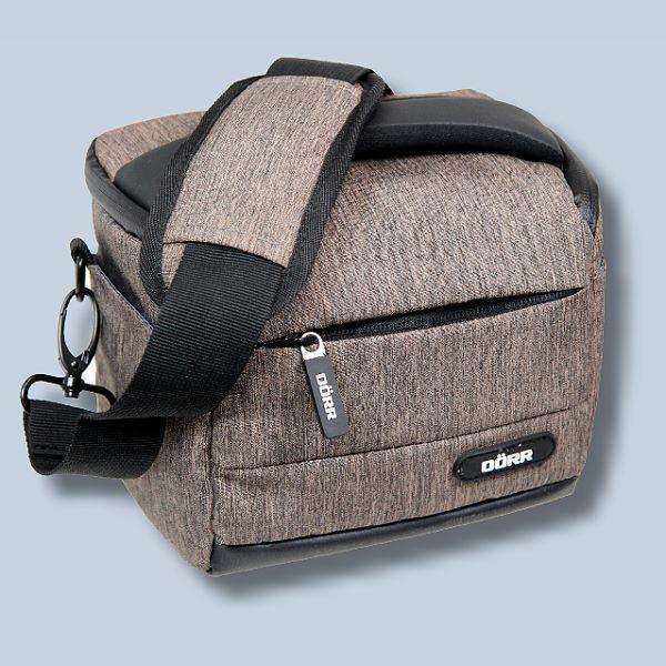 Dörr Fototasche Motion S in braun Kameratasche für Systemkameras,  Bridgekameras und kleine DSLR Kameras Tasche Bag brown dmsbr 8f1ee97cde