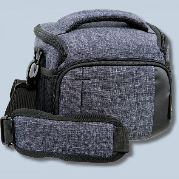 Braun Alpe M Denim Kameratasche für Systemkameras Bridgekamera Fototasche  in blau Tasche mit Regencape bamd d7349734b5
