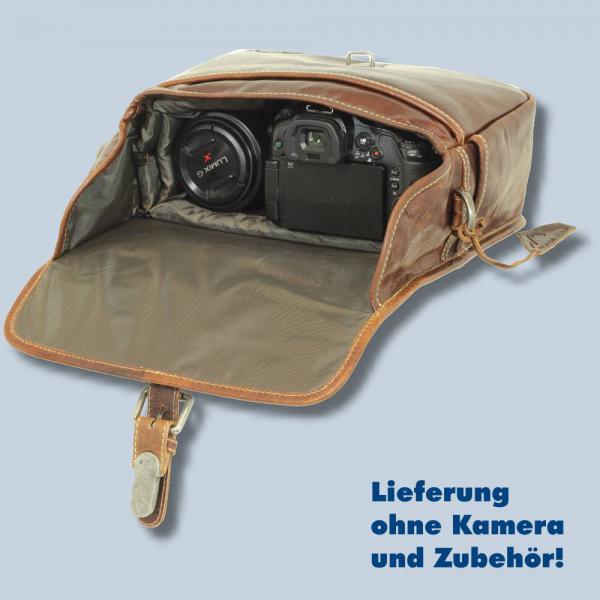 ... Leder Fototasche Alpenleder Presse Brandy echt Leder Tasche in braun  für Systemkameras Evilkameras Kameratasche lal - 7ed0b81093